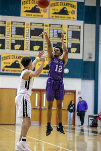 Kendall McHugh #12 scored 22 points to lead all scorers in Chantilly's win over Westfield 65-62