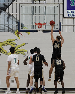 Chris Weaver #24 elevates before shooting the ball.