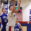 1/28/2016  TJ Dowling | Bristol Eastern High School vs. Plainville High School<br /> <br /> Canon EOS 7D Mark II, EF70-200mm f/2.8L USM, @ f2.8, 1/500, ISO 6400
