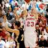 Lapel vs Frankton in boys basketball played at the Eagles' Nest.