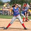 Photo by Chris Martin<br /> Elwood's Mackenzie Bryan pitches against Shenandoah winning the regional championship in a complete game shutout against Shenandoah