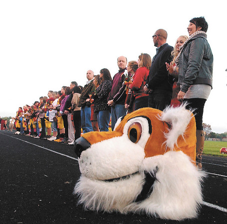 It was Senior Night for the tigers of Alexandria Monroe High School Friday evening. The seniors were recognized along with their parents before the start of their football game against Elwood.