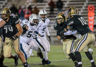 Tim Beard #24 carried the load for Westfield in 1st round playoff win