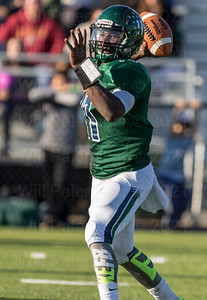 Deandre Clayton is set to throw the ball down the field for South County