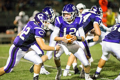 Chantilly RB Joseph Imperato # 32 and QB # Justin Holl # 12