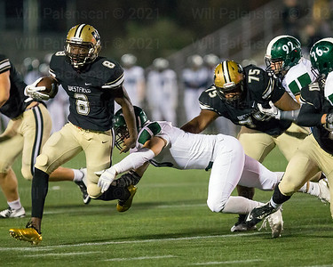 Eugene Asante #8 gets pass Jack McDaniels#8 of South County