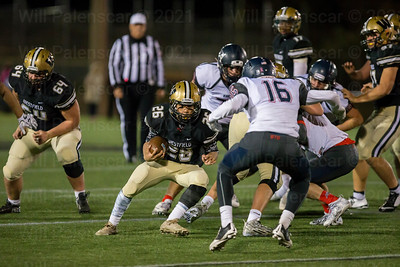 Nathaniel Chung carried the ball 12 times for 78 yards and 2 TD's