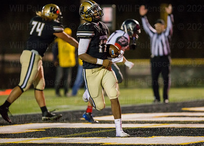 Rehman Johnson runs in for one of his two touchdowns vs WT Woodson