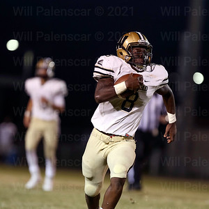 Eugene Asante averaged over 5 yards a carry on 20 carries against Stonewall Jackson.