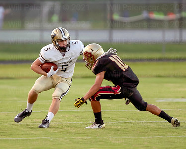 Gavin Kiley caught 3 passes for 67 yrds and a touchdown in Westfields win over Stonewall Jackson in Manassas.