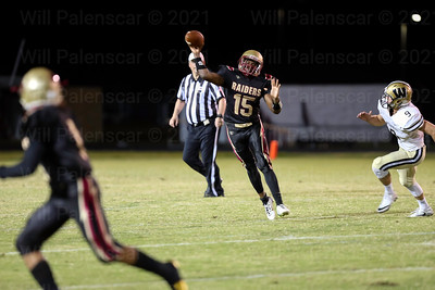 Anthony Jacobs#15 didnt have much success against Westfield  on Friday night.