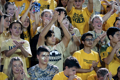 Students from Westfield had cheer on their Bulldogs in game with Patriot HS