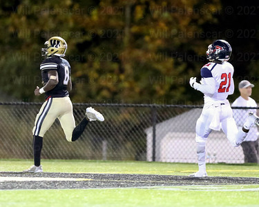 Eugene Asante #8 bursts 59 yards for a westfield TD. Asante finished with 195 yards and 2 TD's.