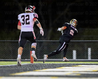 Westfields Taylor Morin's 4th quarter TD was the only touchdown of the game, and gave Westfield a lead they would not relinquish.