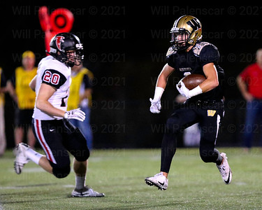 Taylor Morin caught 6 passes for 49 yards and a TD. Morin also intercepted a ball in the end zone  with 27 seconds left in the game.