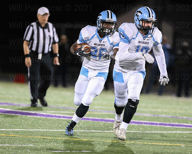 Bassie Kanu #26  carried the ball 6 times for 38 yards and a TD in Centrevilles win over Chantilly,35-7.
