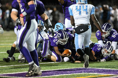 Pierre Johnsons scores for Chantilly on this 4th quarter TD.