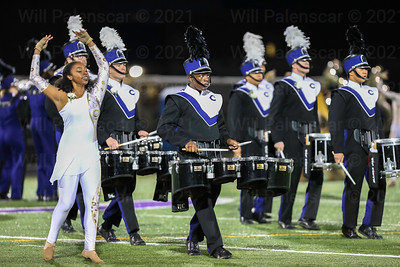 The Chantilly Marching band perfom during halftime of the Chantilly - Centreville game on 10-27. Centreville defeated Chantilly 35-7