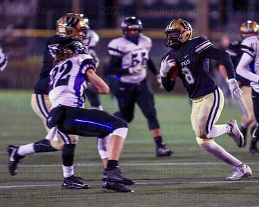 Eugene Asante #8 would take this run 38 yards for a Westfield TD with 2:16 left in the 3rd quarter.