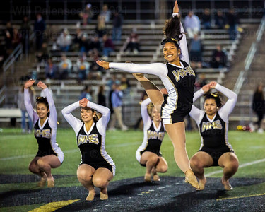 The Westfield Dance team soared to great heights duirng the halftime ceremonies