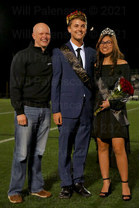 From (L-R) Fairfax County School Board; Ryan McElveen, Ben Afferton; Homecoming King and  Kaylynn Nguyen, Homecoming Queen