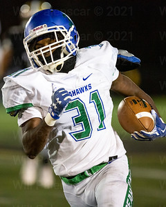 James Earl led the South Lakes Seahawks with 82 yard on 14 carries and a TD