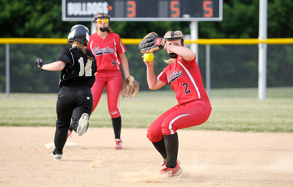 Don Knight | The Herald Bulletin<br /> Sectional action at Lapel High School on Tuesday.