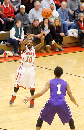 Don Knight / The Herald Bulletin<br /> Anderson hosted Marion on Friday.