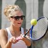 Frankton's #2 singles player Alexa Munger.