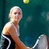 Alexa Morris, AHS's #3 singles player.