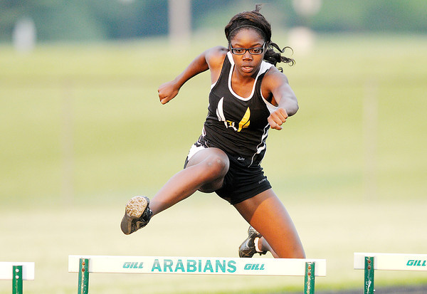 Don Knight | The Herald Bulletin<br /> Girls Track Sectional at Pendleton Heights on Tuesday.