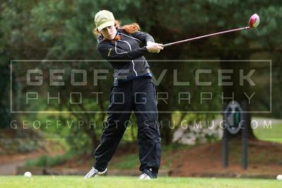 3/27/14- Meadowdale, Shorewood & Shorecrest @ Jackson Golf Course girls golf