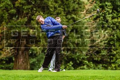 4/9/13- Shorecrest & Shorewood varsity boys Golf