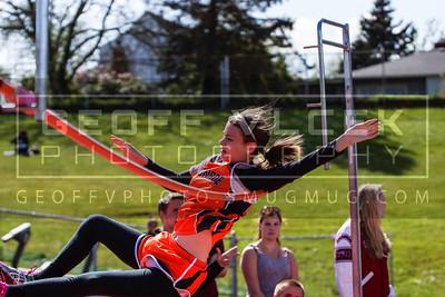 4/30/13- Track & Field JV Championships at Snohomish HS
