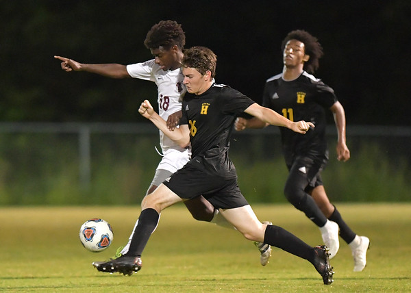 HHS - SCHS Boys Soccer 2018