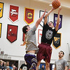 Eric Bonzar—The Morning Journal<br /> Oberlin College hosted the Legeza Cage Classic All-Stars event, March 26, 2017.