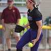 Eric Bonzar—The Morning Journal<br /> Keystone's Lauren Shaw pitched four innings, giving up three hits and no runs, in the Wildcats' 18-0 Division II State Semifinal match up against the Hamilton Ross Rams, June 3, 2016.