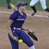 Eric Bonzar—The Morning Journal<br /> Keystone 's Sydney Campbell pitched one inning,  giving up one hit and no runs, in the Wildcats' D-II state semifinal loss against the Akron Hoban Knights, June 2, 2017.