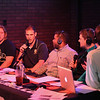 Eric Bonzar—The Morning Journal<br /> The Hooley House and Chalk Talk hosted the Morning Journal Sports inaugural Matt Wilhelm Award presentation, nov. 15, 2016. Midview Middies quarterback Dustin Crum was named the award winner from a field of five finalists that included Crum and Avon Lake quarterback Mark Pappas, Olmsted Falls running back Spencer Linville, Westlake quarterback Trey Bialowas and Lorain running back/safety Carlos Chavis.