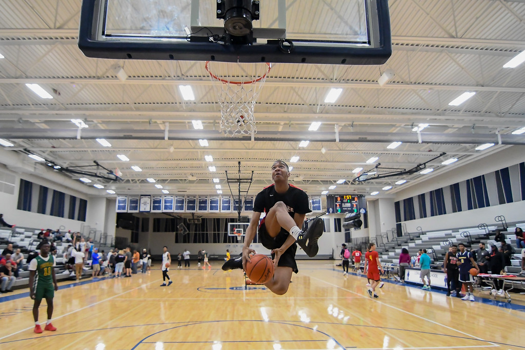 . Eric Bonzar�The Morning Journal The best high school basketball players from across Ohio converged on Lorain High School\'s gymnasium to showcase their talents during the 3rd Coast Hoops All-Star Day, April 15, 2017.