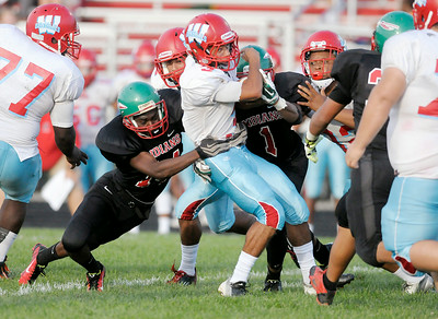 Don Knight | The Herald Bulletin Anderson opened their football season at home against Ft. Wayne Wayne on Friday.