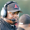 Don Knight | The Herald Bulletin<br /> Anderson's new head coach Robert Brown faced his former team Ft. Wayne Wayne as Anderson opened their football season at home on Friday.