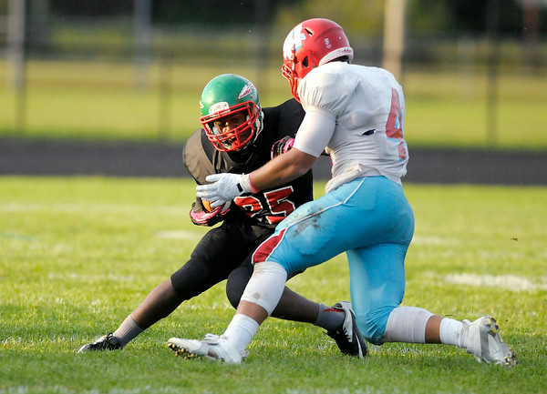 Don Knight | The Herald Bulletin<br /> Anderson opened their football season at home against Ft. Wayne Wayne on Friday.