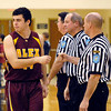 Alexandria vs Lapel High School in boys basketball Friday night at Lapel.