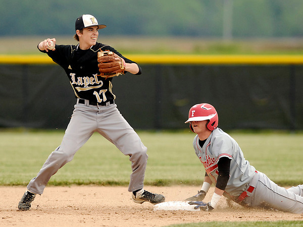 Class 2A baseball sectional championship game between Lapel and Frankton.