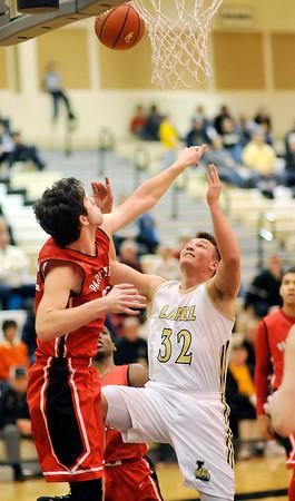 John P. Cleary   The Herald Bulletin <br /> Park Tudor vs Lapel in boys basketball.