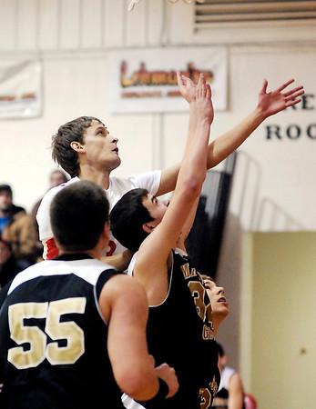 THB photo/John P. Cleary<br /> Madison-Grant vs Liberty Christian in boys basketball.