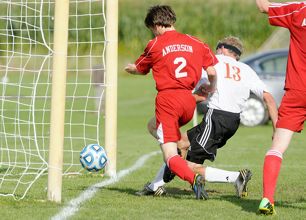 Don Knight | The Herald Bulletin<br /> Liberty hosted Anderson at Davis Park on Tuesday.