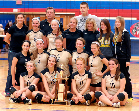 The Madison Grant Lady Argylls are the 2012 Madison County volleyball champions for the second year in a row.