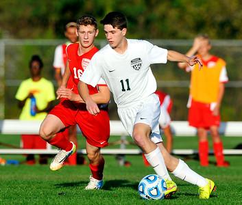 Pendleton vs Anderson in Boys Sectional Soccer